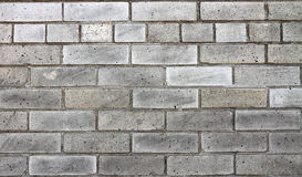 A gray brick wall Royalty Free Stock Image