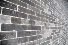 Gray Brick wall Stock Images