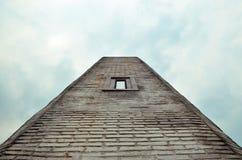 A gray brick wall Stock Images