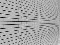 Gray Brick Wall. Fotos de Stock Royalty Free