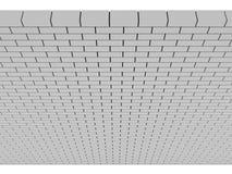 Gray Brick Wall. Foto de archivo libre de regalías