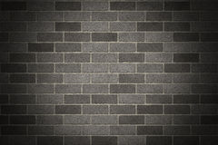 Gray Brick Wall Photo stock