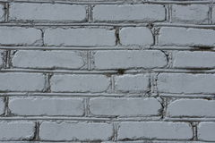 Gray Brick Wall Fotos de Stock Royalty Free