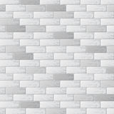 Gray brick wall background. Abstract white brick wall with different bricks Stock Photography