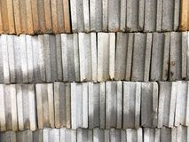 Gray brick wall background material of construction background. Gray brick wall background material of construction Stock Images
