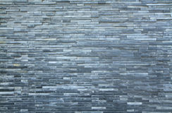 Gray brick wall background Stock Images