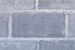Gray brick wall background. The gray brick wall texture background stock image