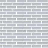 Gray brick wall background. Vector Illustration. Gray brick wall background. Flat and solid color vector illustration Royalty Free Stock Photo