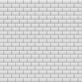 Gray brick wall background. Vector. Illustration Royalty Free Stock Image