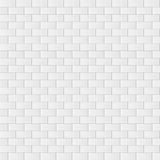 Gray brick wall background. Vector. Illustration Stock Photography