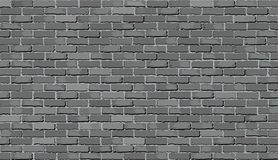 Gray brick wall. Illustration Royalty Free Stock Images