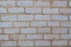 Gray brick. Wall of gray old brick Royalty Free Stock Images