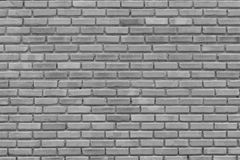 Gray brick wall for pattern,background and design Royalty Free Stock Images