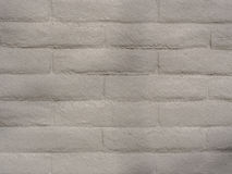 Gray Brick Wall peint, texture de fond Image libre de droits