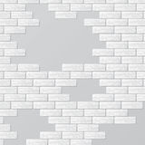 Gray brick wall with text places. Abstract background with gray bricks and empty places Royalty Free Stock Images