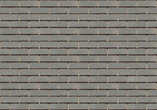 Gray brick wall seamless texture Stock Photos