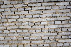 Gray brick wall Royalty Free Stock Image