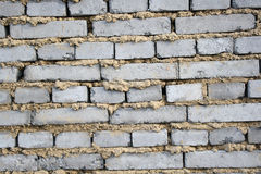 Gray brick wall Royalty Free Stock Photos