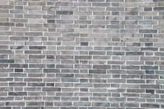 Gray brick wall Stock Image