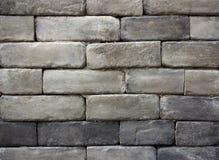 Gray brick wall texture background Stock Photo