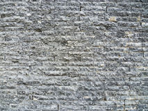 Gray brick wall texture Royalty Free Stock Image