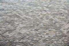 Gray brick wall Royalty Free Stock Photo