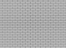 Gray Brick Wall. Texture sans couture. Images libres de droits