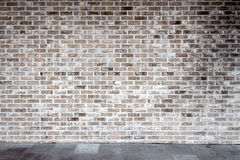 Gray brick wall royalty free stock photography