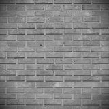 The gray brick wall. Vector Illustration. The gray brick wall. Design element. Vector Illustration Royalty Free Stock Photography