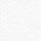Gray brick wall. Vector seamless texture of gray brick wall Royalty Free Stock Photo