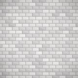 Gray brick wall. Royalty Free Stock Photos