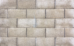 Gray bricks background Royalty Free Stock Photo