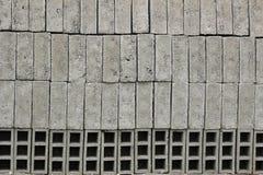 Gray Bricks at a Brickyard Royalty Free Stock Photos