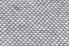Gray bricks texture on top of roof in temple, Thailand. Abstract Royalty Free Stock Image