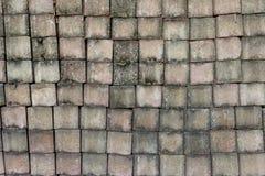 Gray bricks wall pattern. Abstract background royalty free stock image