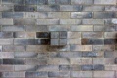 Gray Bricks Wall Pattern, fundo abstrato imagem de stock
