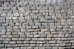 Gray bricks wall texture Royalty Free Stock Photos