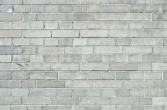 Gray brickwall surface Stock Photos