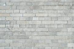 Gray brickwall surface Stock Photos