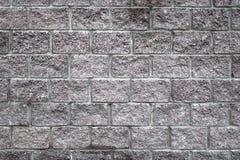 Gray brickwork. New brickwork of gray ractangle bricks royalty free stock image