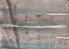 Gray Brown abstract wash drawing picture. Hand-drawn abstract watercolor texture. Used contrasting and transient colors Stock Image