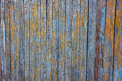 Gray brown background of wooden fence boards Stock Images