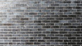 Gray and brown brick wall texture. Can be used as background or wallpaper and for other possibilities or to modify to your taste Vector Illustration