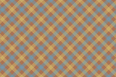 Gray brown check diagonal fabric texture background seamless pat Royalty Free Stock Images