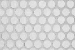 Gray bubble wrap Stock Photos