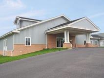 Gray building Stock Photo