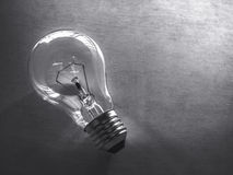 Gray bulb Stock Photography