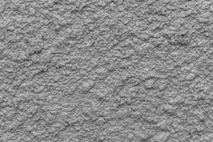Gray bump plaster wall coating with oil paint texture Royalty Free Stock Image