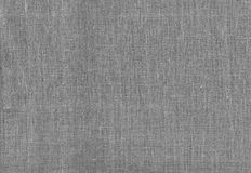 Gray burlap sacking as background Royalty Free Stock Photo