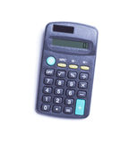 Gray calculator Royalty Free Stock Images
